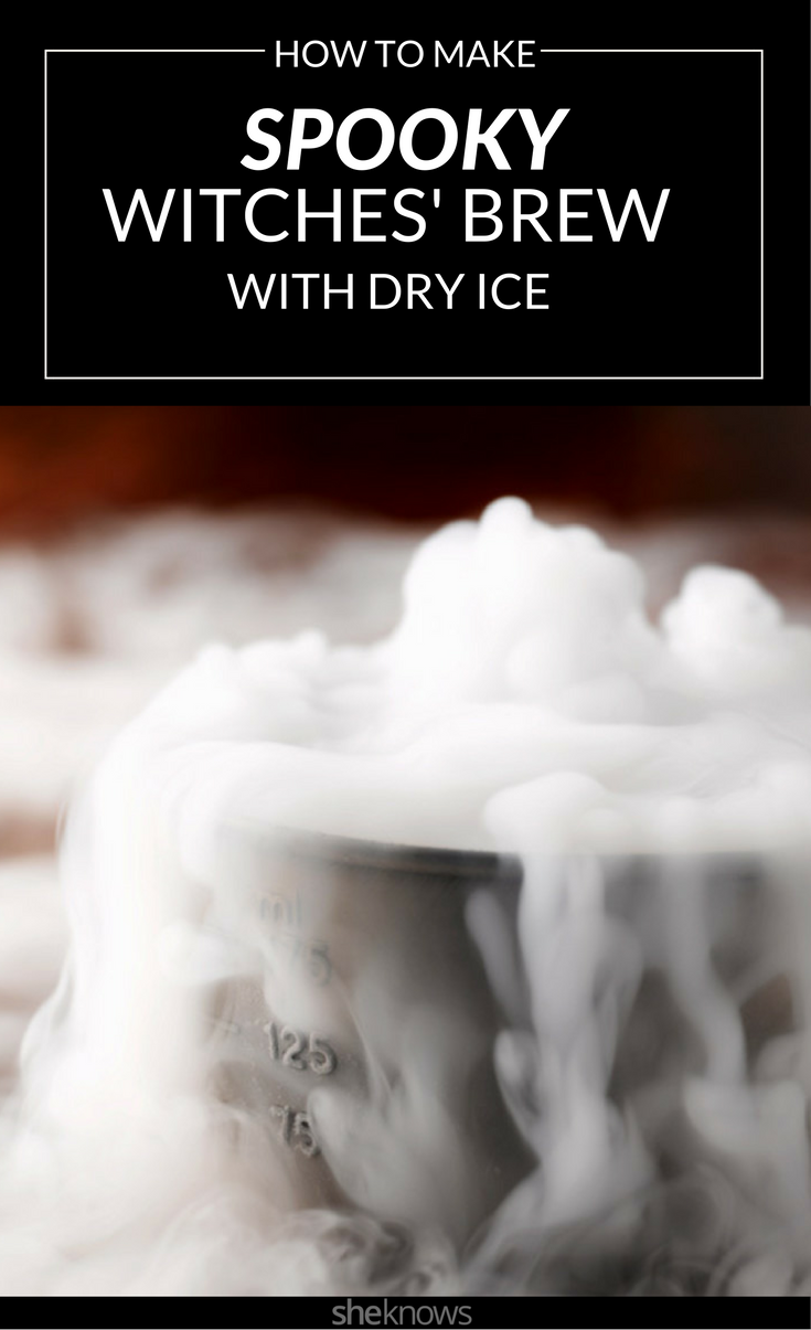 How to Make a Dry Ice Cauldron Punch Bowl – SheKnows
