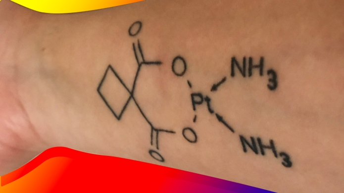 Tattoo of chemo compound