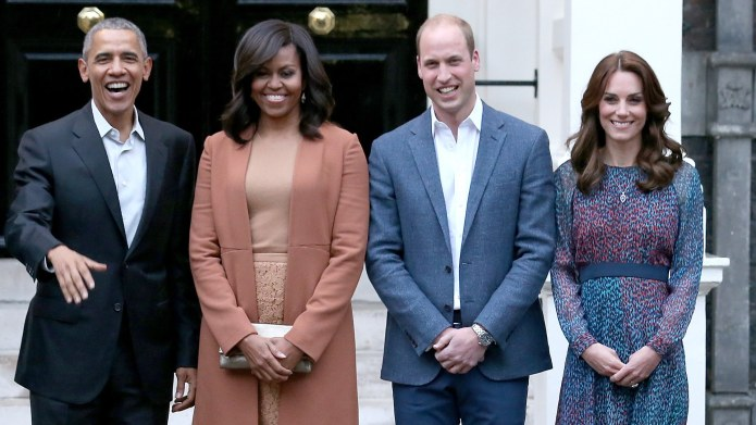 The Obamas Congratulate Prince William &