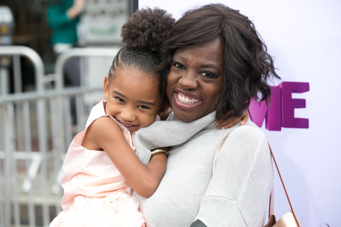 Viola Davis and her daughter