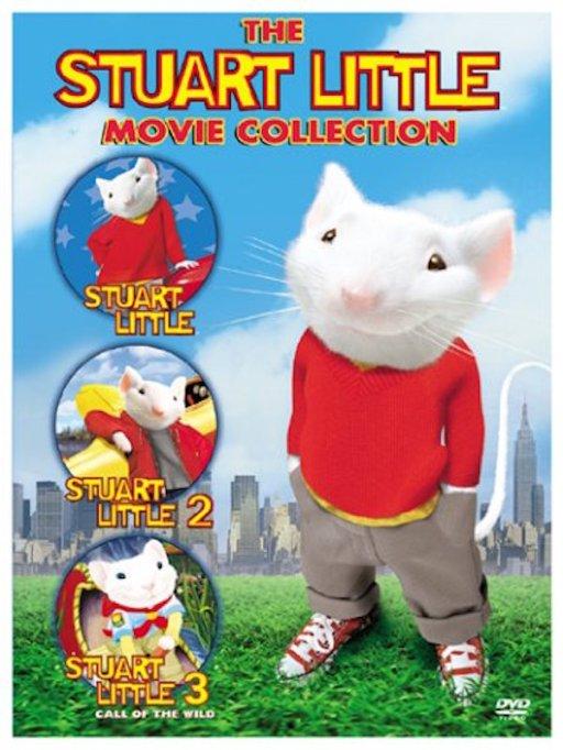 'Stuart Little' DVD art