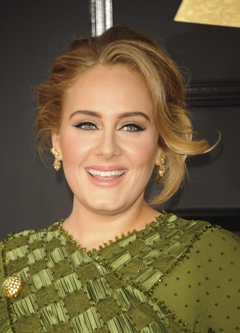 Adele red carpet