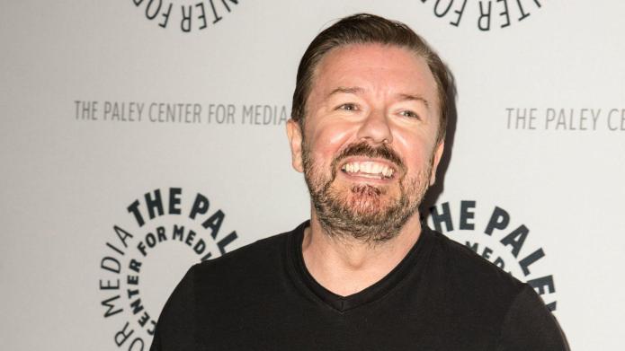 Ricky Gervais spills Jimmy Fallon's dirty