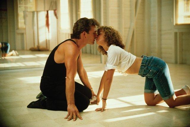 movie kisses dirty dancing
