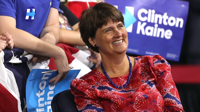 Who is Tim Kaine's wife, Anne