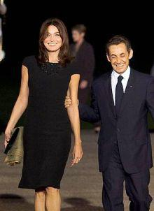 Carla Bruni-Sarkozy checks into Paris hospital