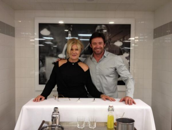 Deborra-lee Furness & Hugh Jackman at Madison Park
