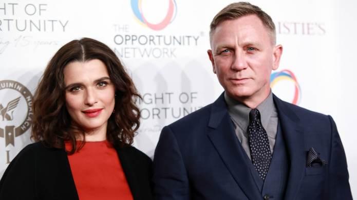 Rachel Weisz & Daniel Craig Are