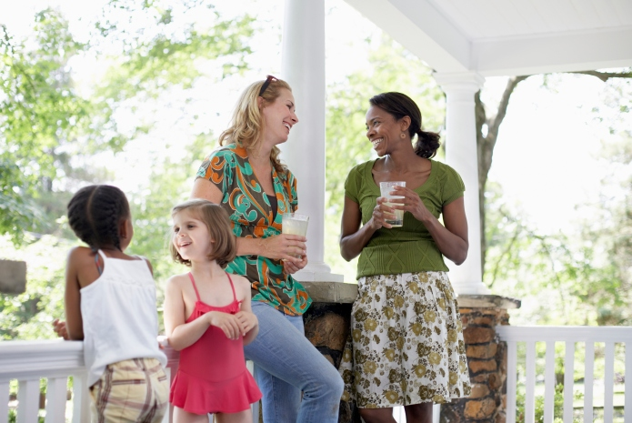 What working moms have that stay-at-home