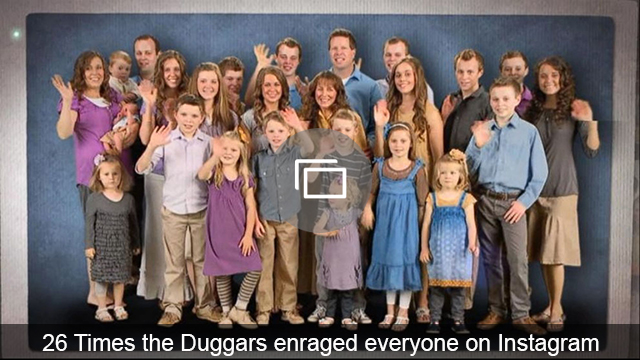 duggar enraged instagram slideshow