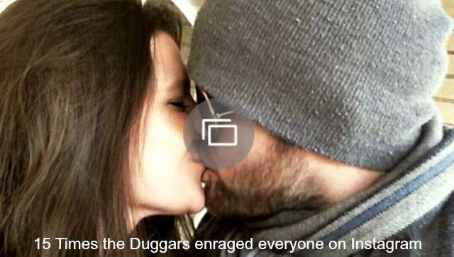 Duggars Instagram post slideshow