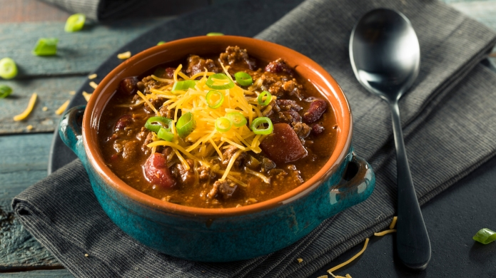 Homemade Beef Chili Con Carne with