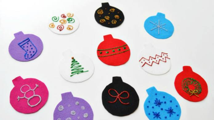 Felt Christmas Tree Pattern.Adorable Diy Felt Christmas Tree Ornaments For Kids