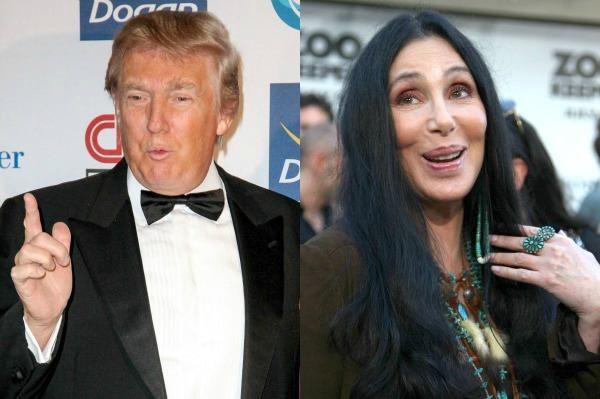 Dump Trump petition - Cher