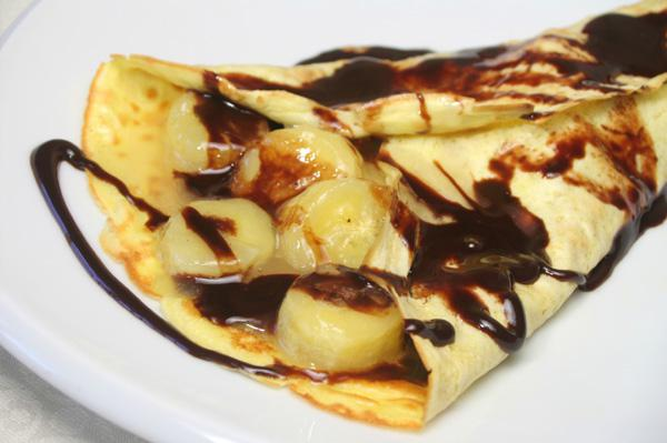 Crepe Recipe Filling Banana