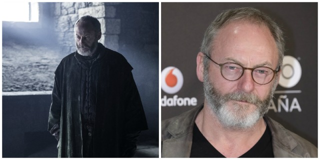 These 'Game of Thrones' characters look totally different in real life: Davos Seaworth vs. Liam Cunningham