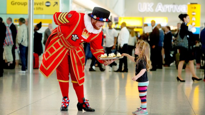 Heathrow Airport Is Throwing a Royal