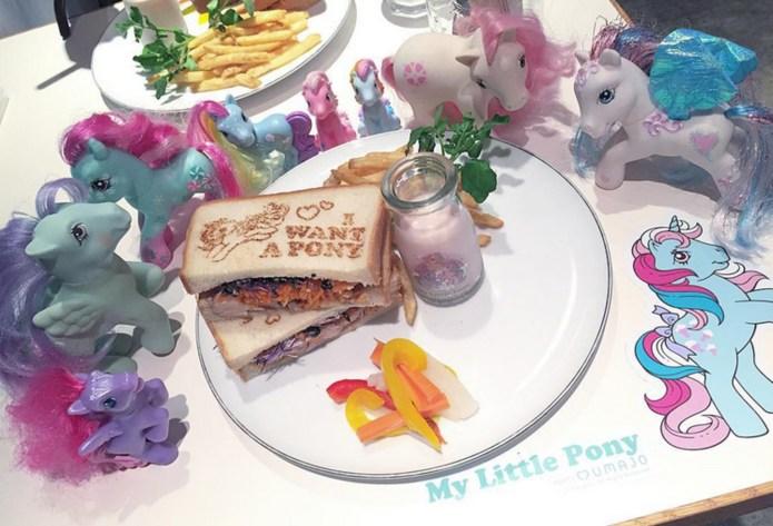 The My Little Pony café is
