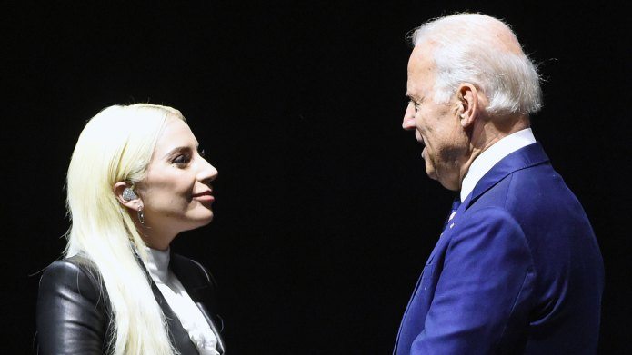 Lady Gaga & Joe Biden Haven't