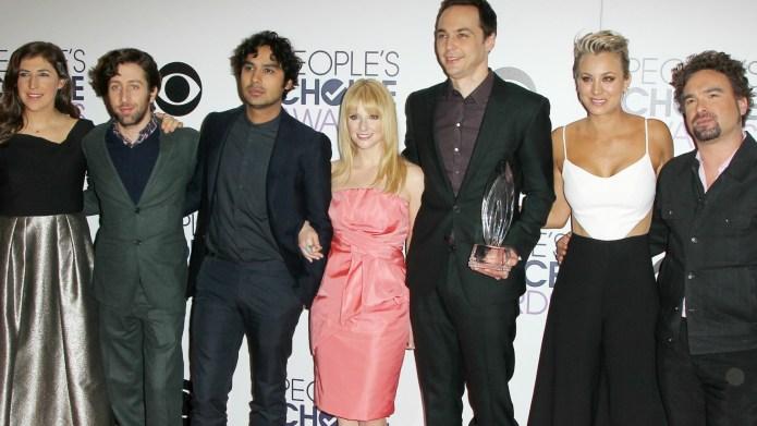 The Big Bang Theory stars squash