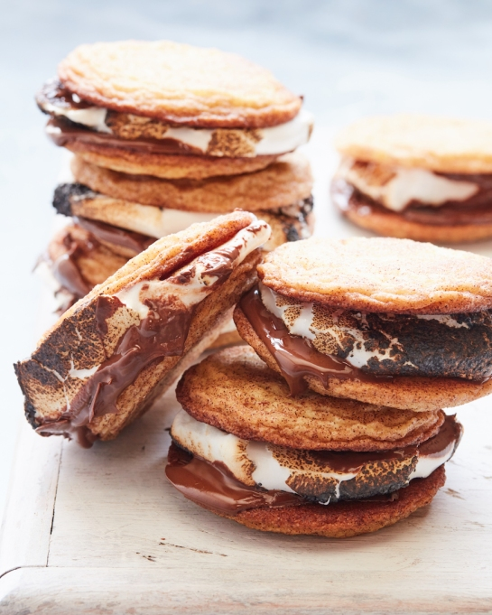 11 Toasted Marshmallow Recipes: Replace graham crackers with snickerdoodles for better s'mores