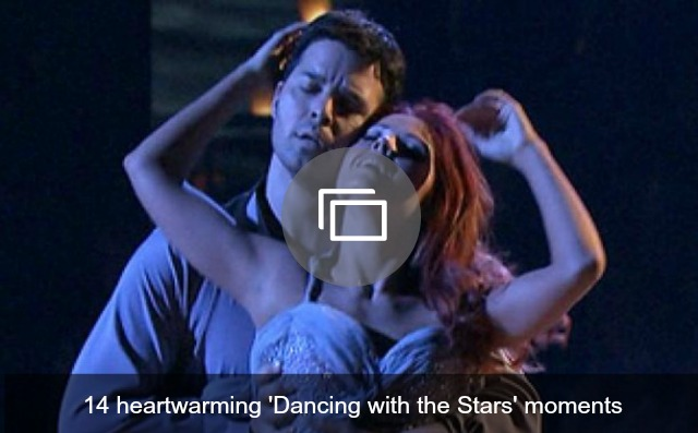 DWTS heartwarming moments