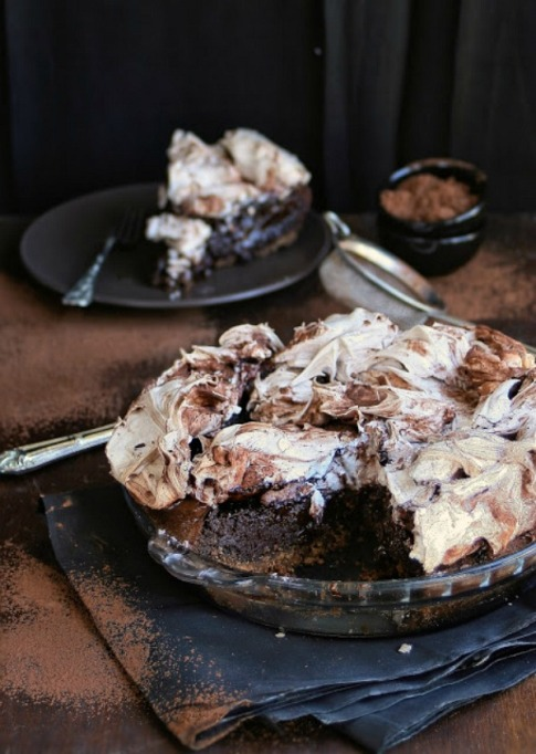 New Twists on Classic Thanksgiving Pies: Easy Chocolate Meringue