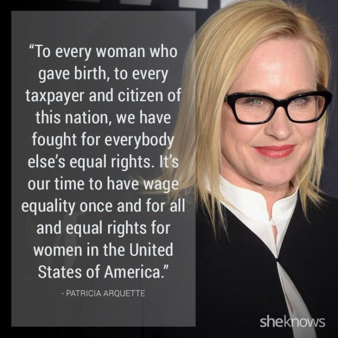 Patricia Arquette quote