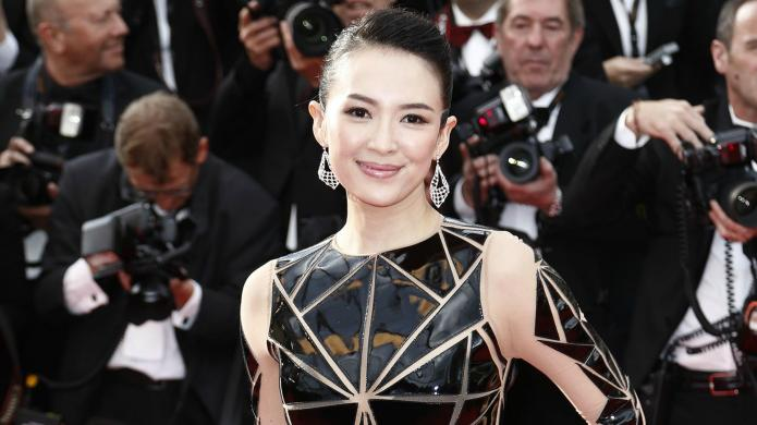 Actress Zhang Ziyi is proposed to