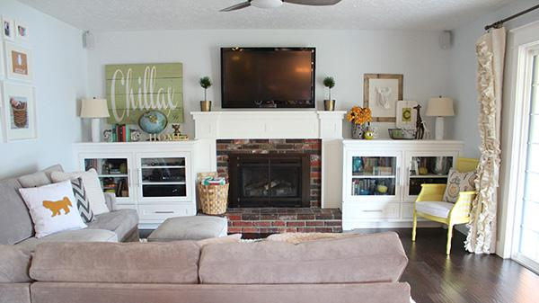How the family room evolves over