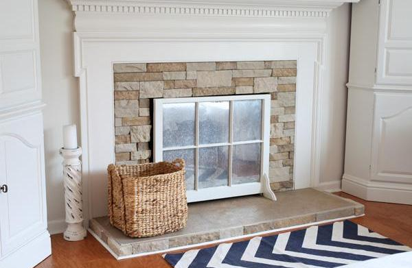 Before & after: 15 Fireplace surrounds