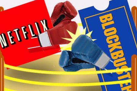 Netflix vs Blockbuster: A streaming war