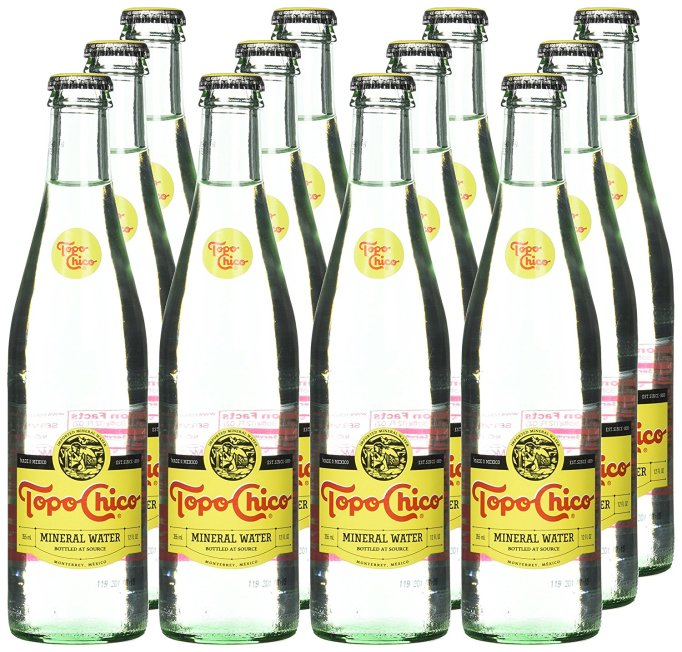 Topo Chico Sparkling Mineral Water