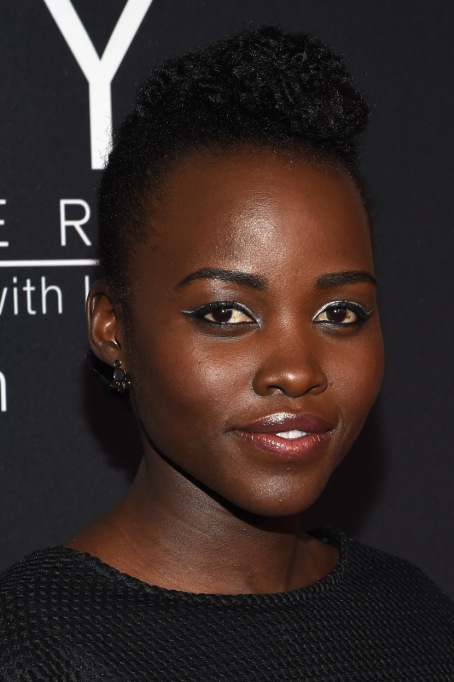 Celebrities Who Embraced Their Natural Hair Texure: Lupita Nyong'o