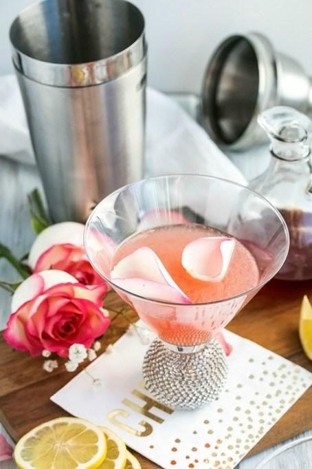 Rose Lemon Drop Martini