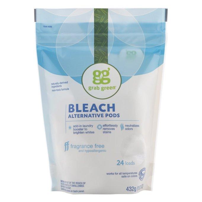 Grab Green Bleach alternative pods