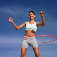 Hula hooping for fun, full-body fitness