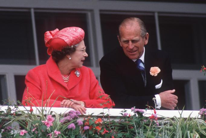 Queen Elizabeth II & Prince Philip in 1989