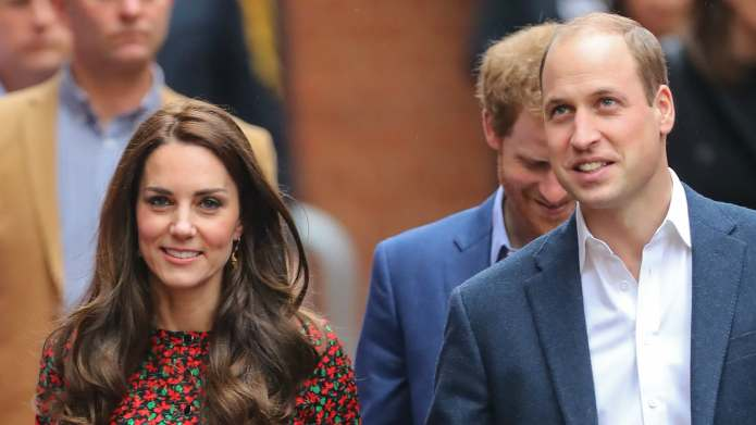 Weeks later, the royal family finally