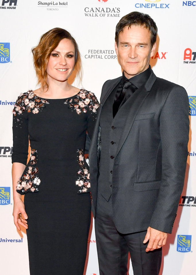 Anna Paquin and Stephen Moyer November 2017