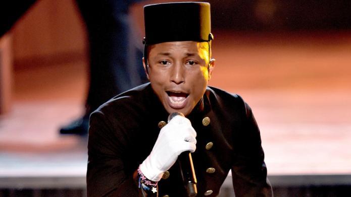 How Pharrell's genius Grammy performance challenged