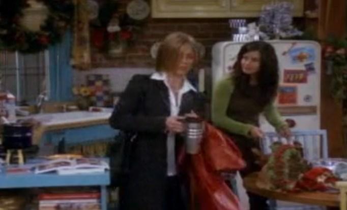 Rachel and Monica Friends