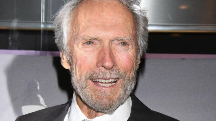 Clint Eastwood has a new lady