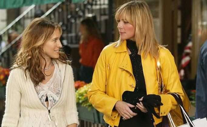 Kim Cattrall and Sarah Jessica Parker sex and the city