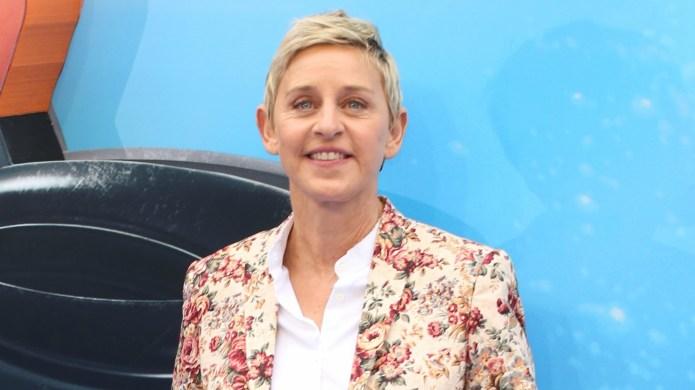 Ellen DeGeneres got a medal from