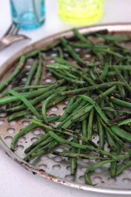 New Ways to Serve Up Green Beans This Thanksgiving: grilled green beans