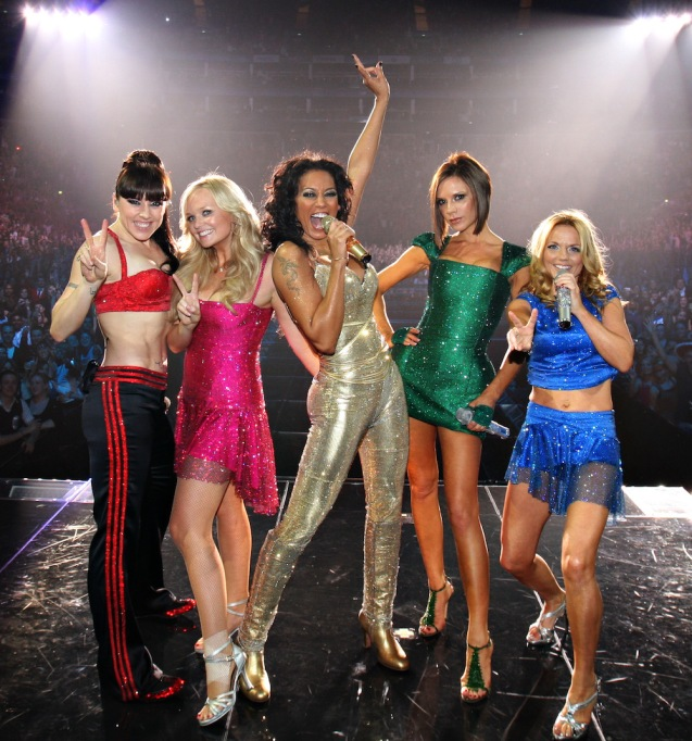Spice Girls performing 2007
