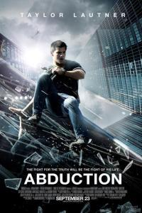Taylor Lautner in glass-shattering Abduction poster