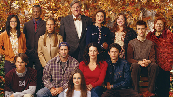 'Gilmore Girls': 14 behind-the-scenes pics to