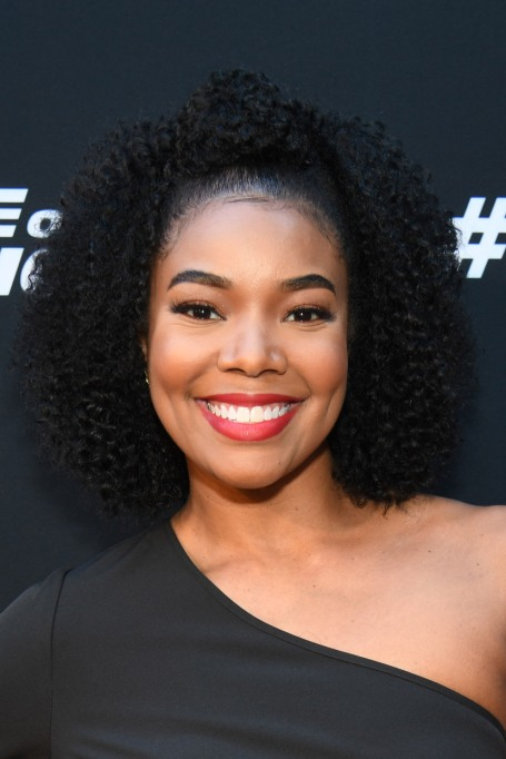 Celebrities Who Embraced Their Natural Hair Texure: Gabrielle Union